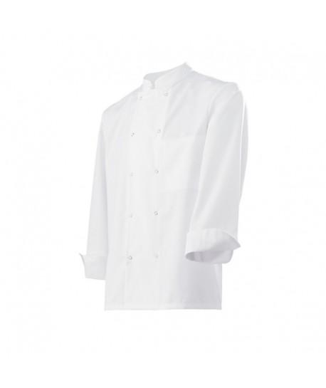 Veste de cuisine pour hommes à bouton pressions VDNSP
