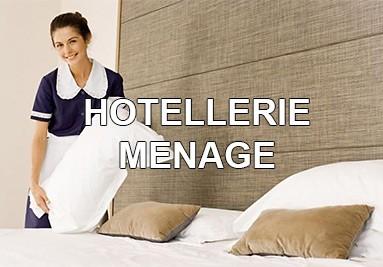 Hôtellerie - Ménage